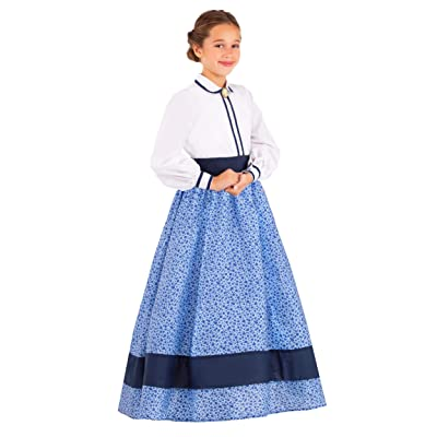 Girl's Prairie Dress Costume: Clothing