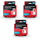 3m Interior Transparent Weather Sealing Tape 1 5 Inch By