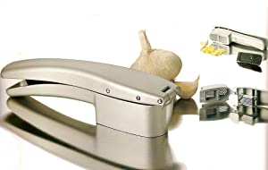 Amco Garlic Press & Slicer