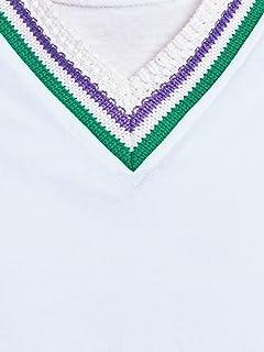 United Arrows Sweat Vest 1117-699-2342: White