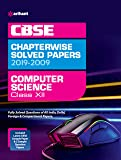 CBSE Computer Science Chapterwise Solved Papers Class 12 2019-2009