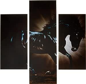 ثري ارت لوحة فنية لديكور المنزل - 64x60 سم