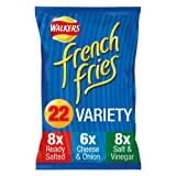 Walkers French Fries Variety Snacks, 18g (22 Pack)