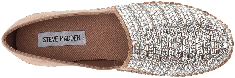 Steve Madden Women's Proud Sneaker B078T1TSLP 5 B(M) US|Rhinestones