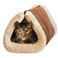 Baido Tapis et niche de chat 2 en 1