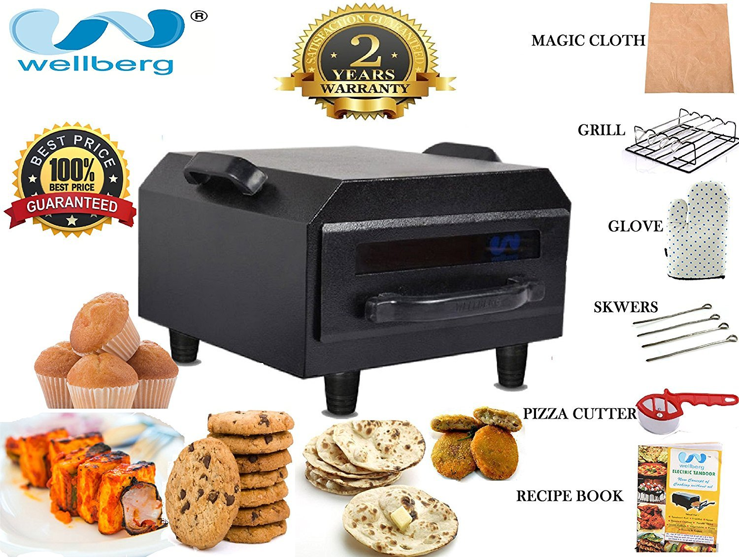 Tandoors & Grills under Rs.1,999