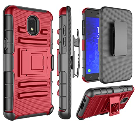 Amazon.com: Galaxy J7 2018, carcasa funda J7 2018 Holsters ...