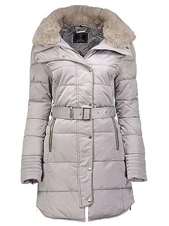 half off 40977 82f6c Rino & Pelle Damen Winter Mantel Steppmantel Blush Beige ...