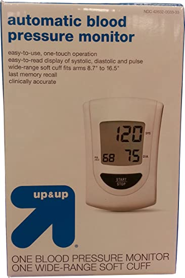 Amazon.com: Tensiómetro automático por Up & Up: Health ...