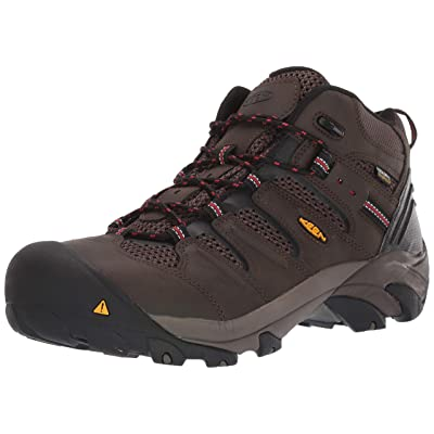Keen Utility Men's Lansing Mid Waterproof Industrial and Construction Shoe: Shoes