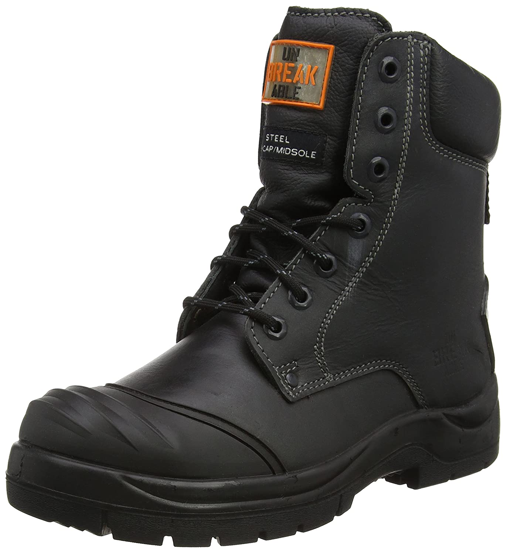 Unbreakable Demolition Combat Safety Boot Black 5 UK Men Src Safety Boots Black 38 EU
