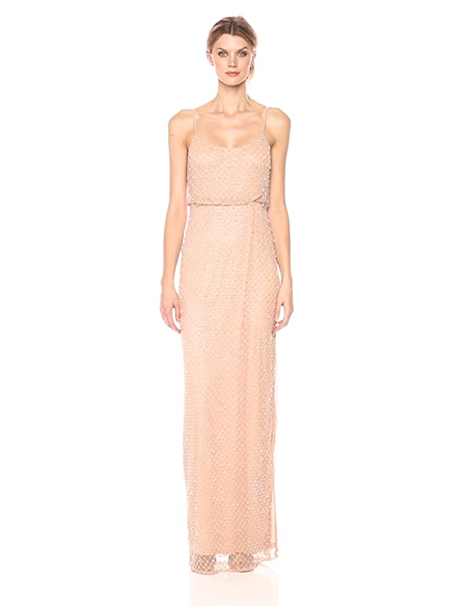 6ea498a0fdf3d Jenny Yoo Women's Lyra Beaded Gown at Amazon Women's Clothing store: