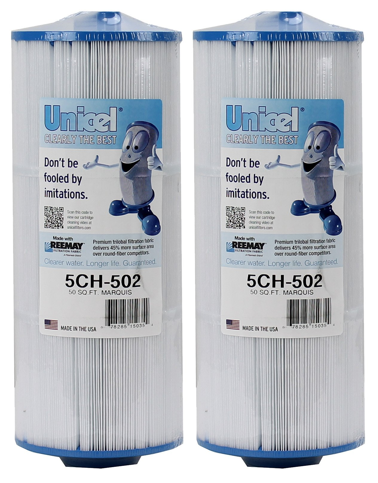 Unicel 5CH-502-2 Replacement Filter Cartridge (2 Pack) by Unicel
