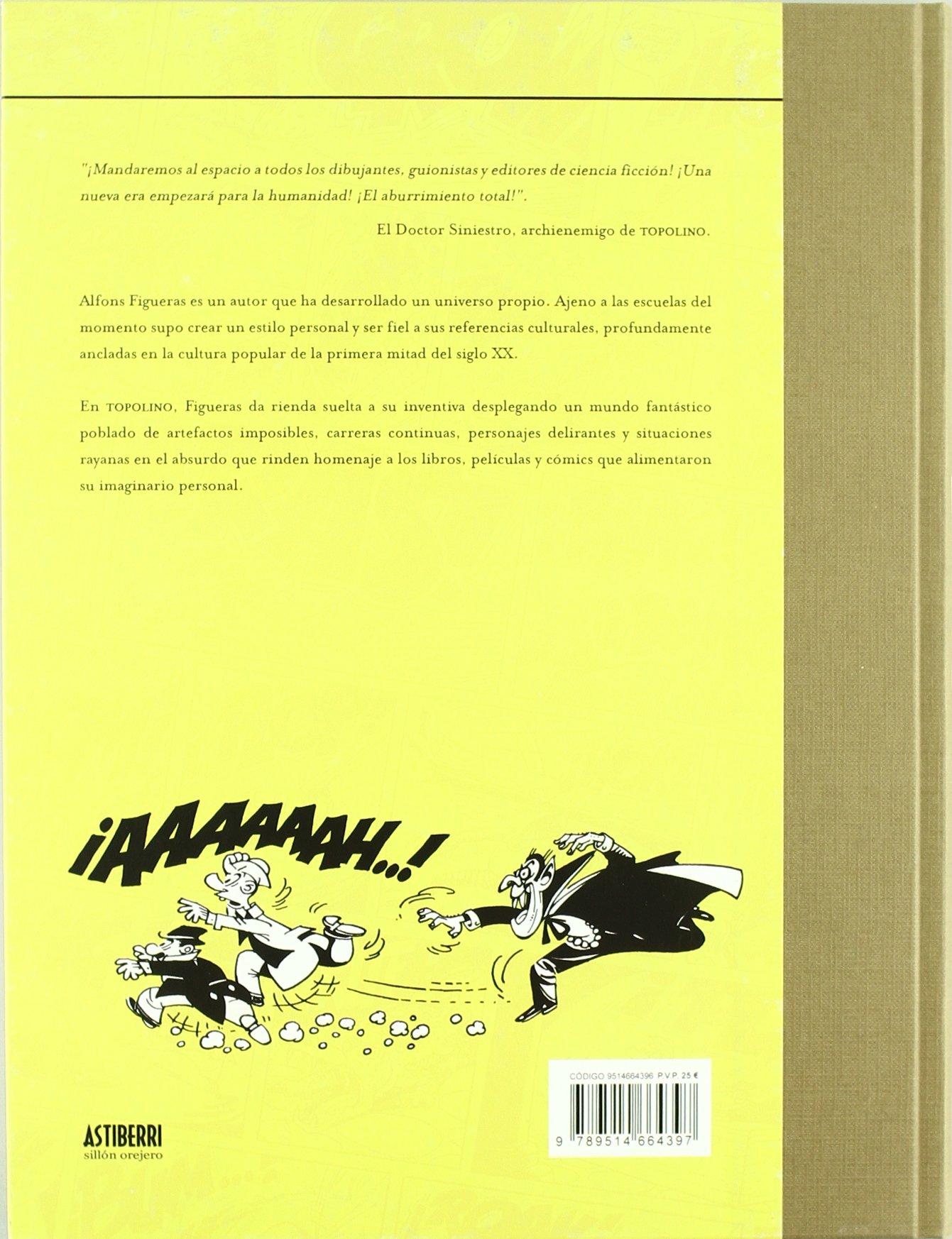 TOPOLINO EL ULTIMO HEROE: ALFONSO FIGUERAS: 9789514664397 ...