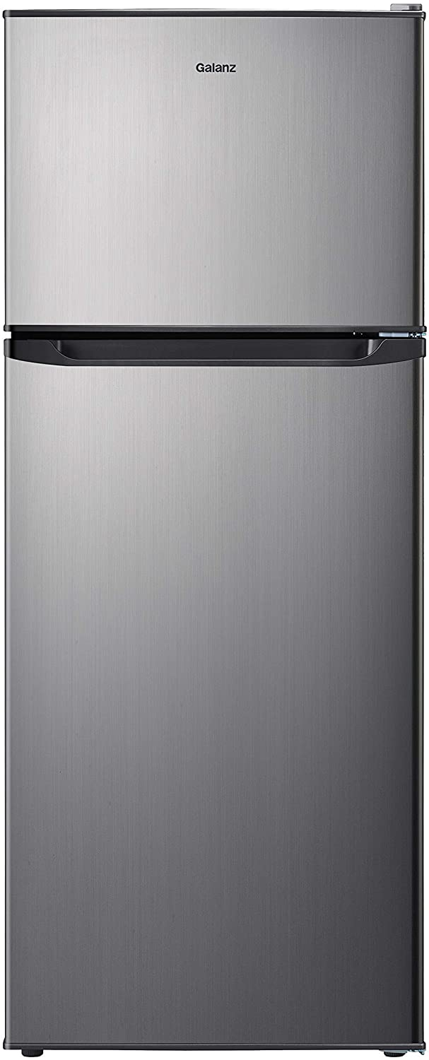 10 Cu Ft Galanz best Top Freezer Refrigerator For Home & Kitchen.