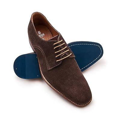 Chaussures Zerimar marron homme Je1062YKv