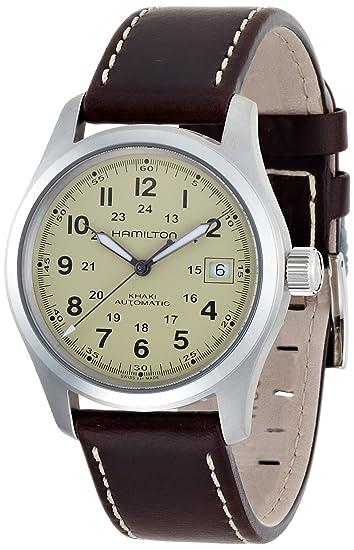 Hamilton Reloj Analogico para Hombre de Automático con Correa en Cuero H70455523