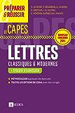 Préparer et réussir le CAPES de Lettres classiques et modernes - Épreuve d'admission : Nouveau concours 2014 (« Pour les concours »)