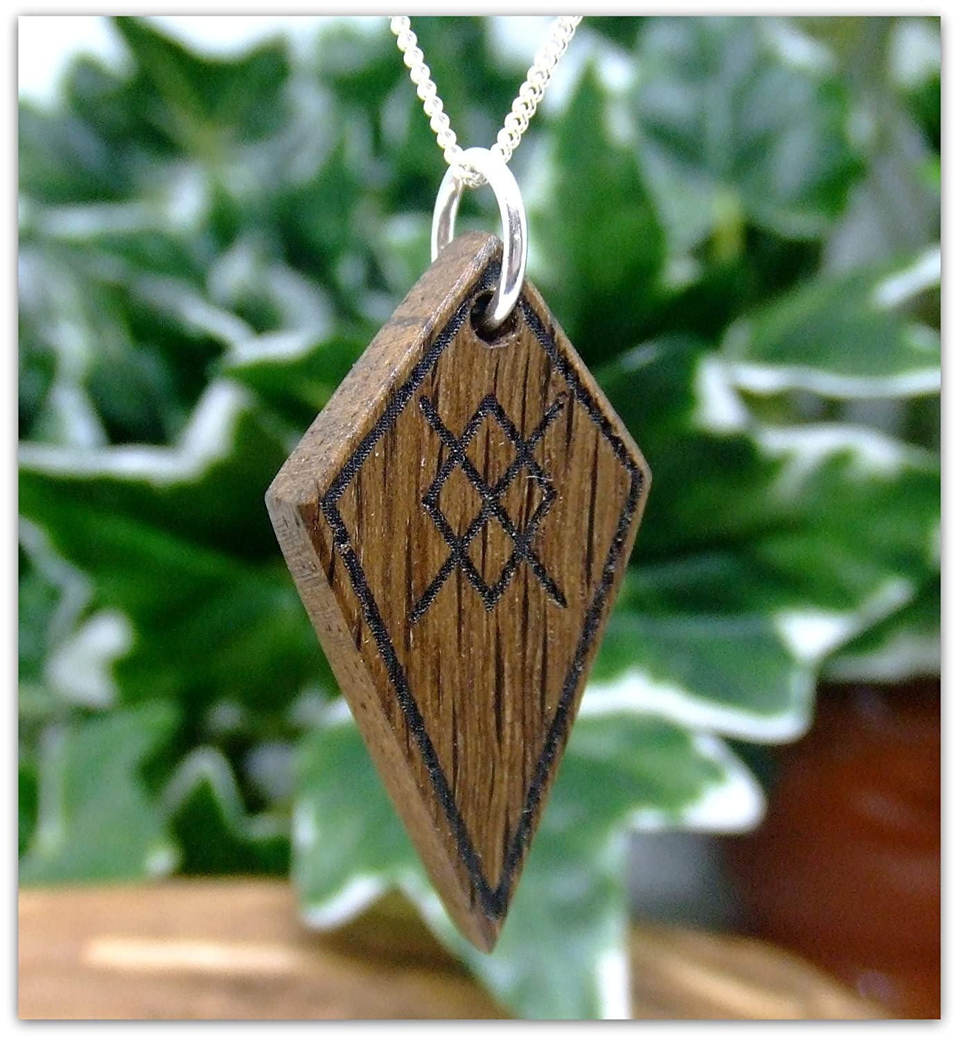 Spear of Odin Arrow head Pendant Necklace handcrafted in 5000 year