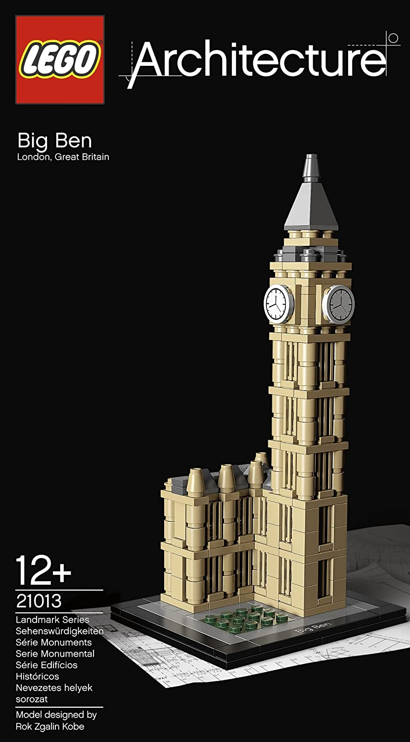 21013 big ben de lego. Black Bedroom Furniture Sets. Home Design Ideas