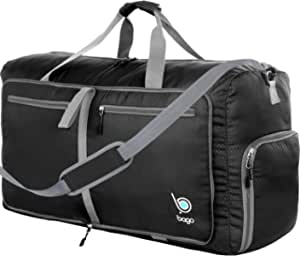FAJRO Gym Bag Travel Duffel Express Weekender Bag Halloween Owl Carry On Luggage with Shoe Pouch