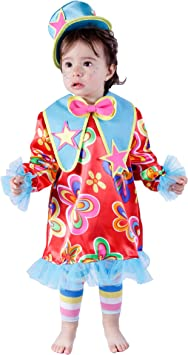 Nines dOnil Export - Disfraz de payasita para bebés, Color Rojo ...