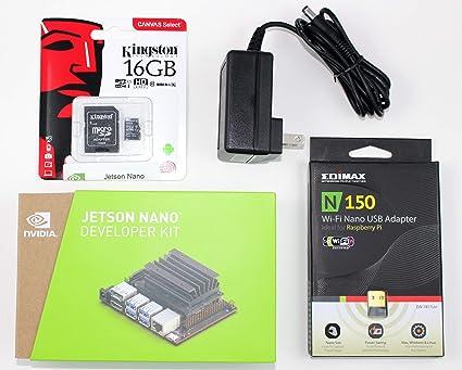 Amazon com: NVIDIA Jetson Nano Starter Kit with Jetson Nano