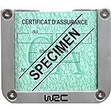 Wrc - Porte Vignette Alu Wrc
