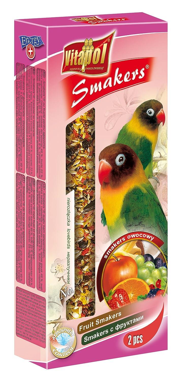 Vitapol Smakers bâton pour friandises pour inséparables Fruits avec 2clés ZVP2608MP