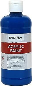Handy Art Student Acrylic Paint 16 ounce, Ultramarine Blue