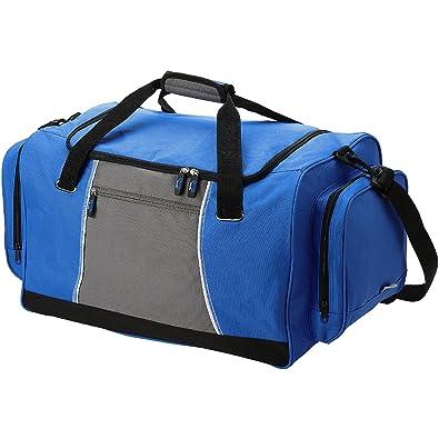 3422bb737a71 SLAZENGER - Sports bag - royal blue gray  Amazon.co.uk  Clothing