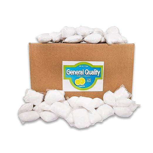 Mega Pack - 120 count detergente lavavajillas PACS, marcas de ...
