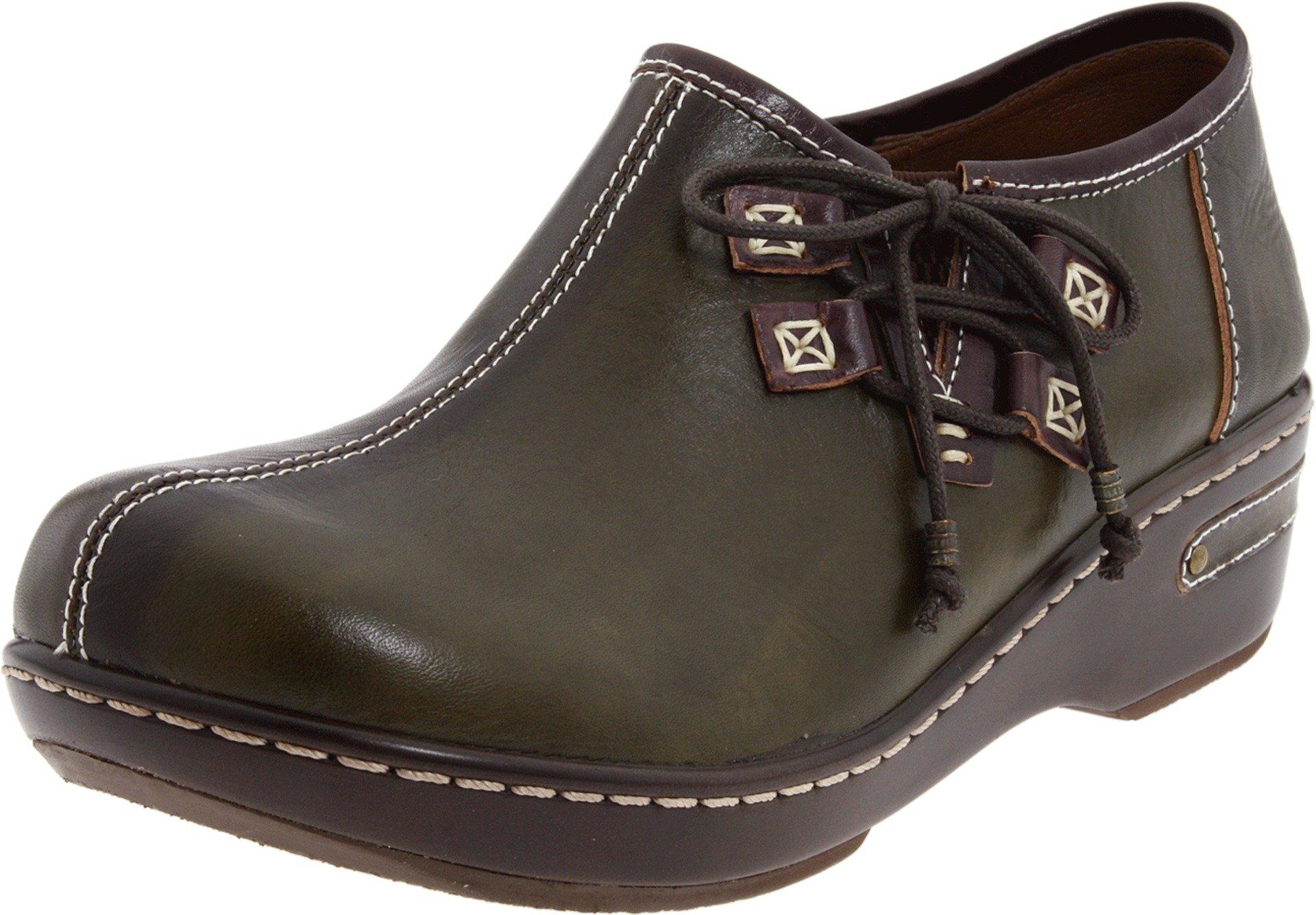 Spring Step Women's Laramie Slip-on,Olive,35 EU/4.5-5 M US