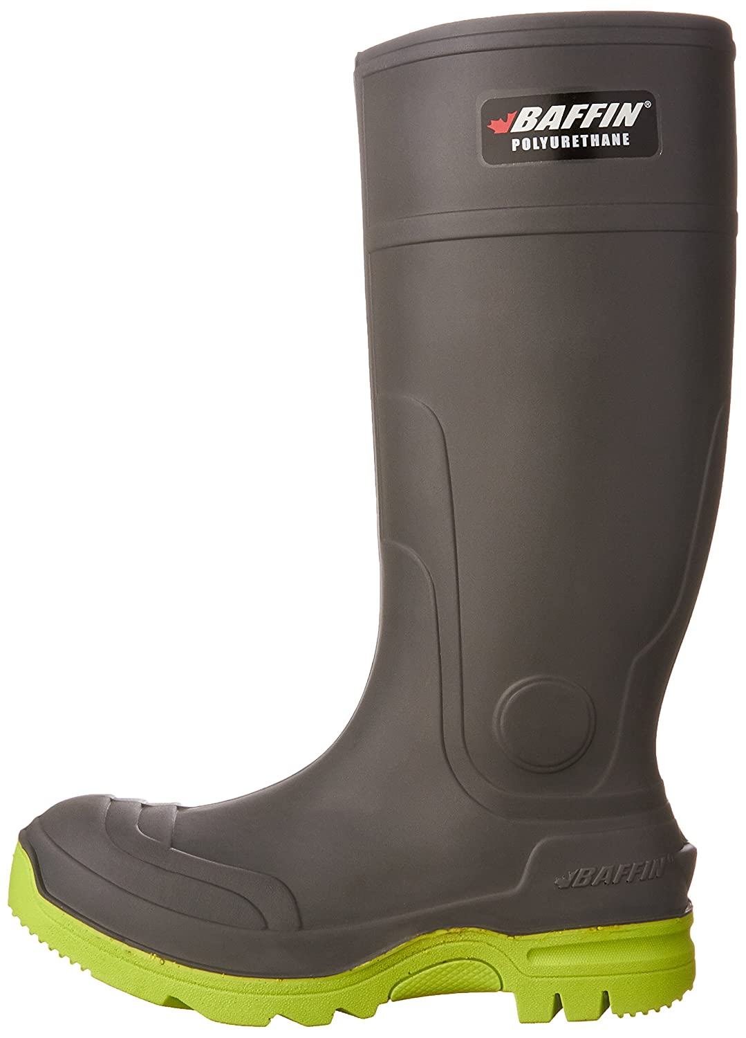 Baffin Mens Charcoal Duralife Brutus Work Boot Round Toe Charcoal 4 D