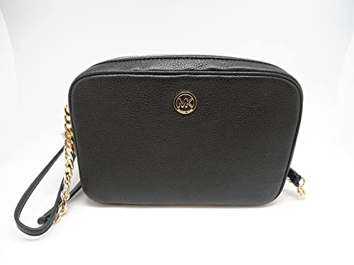 0a8a70774a4917 MICHAEL Michael Kors Fulton Large East West Leather Crossbody Bag in Black:  Amazon.ca: Shoes & Handbags