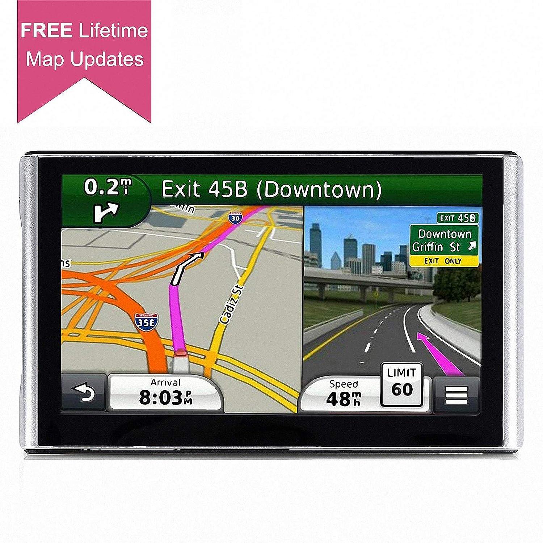 GPS for Car, 7 inch Lifetime Map Update Spoken Turn-to-Turn Navigation  System for Cars, Vehicle GPS Navigator, SAT NAV