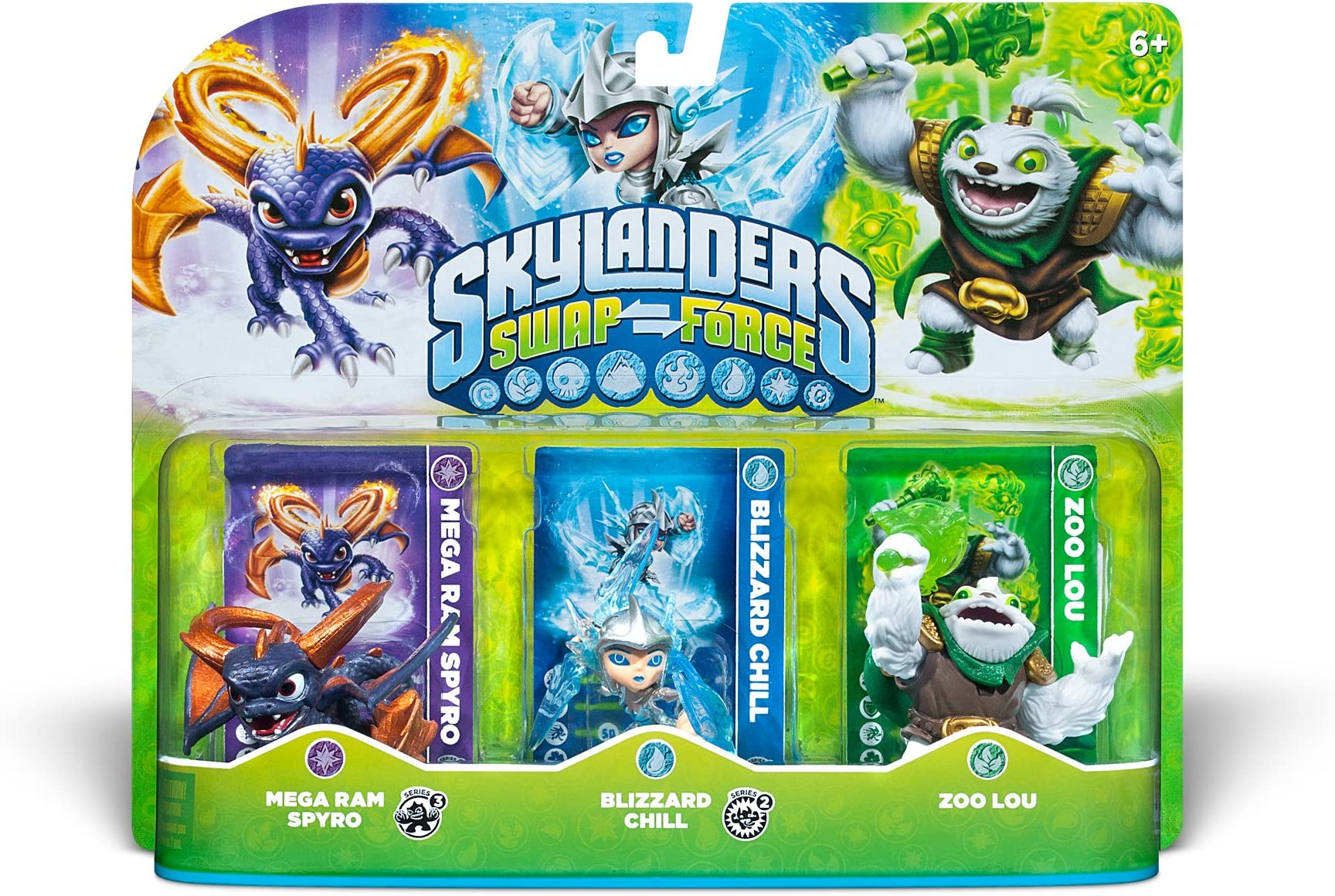Amazon Skylanders SWAP Force Triple Character Pack Mega Ram