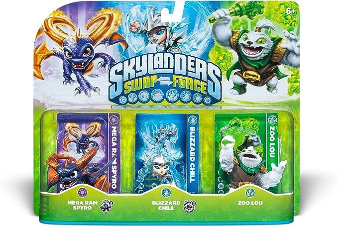 Activision Skylanders: Swap Force - Triple Pack - Accesorios y piezas de videoconsolas: Amazon.es: Videojuegos