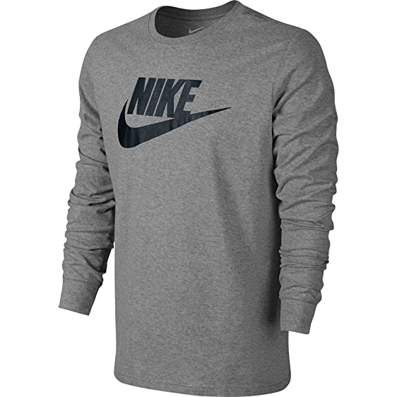 Nike Futura Icon Men's T-Shirt Dark Grey/Heather/Black 708466-063