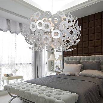 Pia U0026 Paioofay Light® Schlichter Und Eleganter Kronleuchter Aluminium Ein Modernes  Wohnzimmer Kronleuchter Schlafzimmer