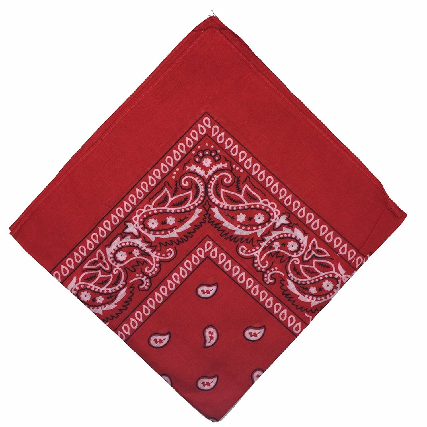 Bandana Hair Band Scarf Cow Boy Neck Wrist Wrap Paisley Biker Neck Head Wear GA