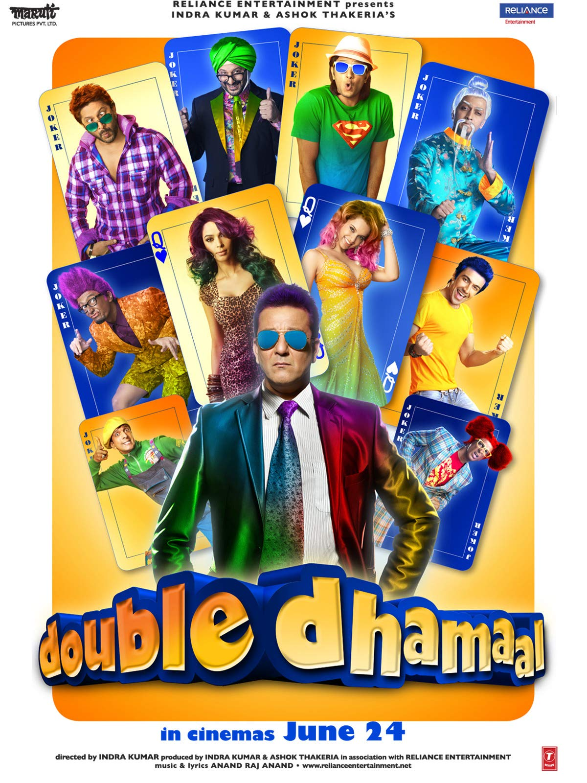 Double Dhamaal on Amazon Prime Video UK