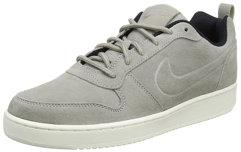 Nike Herren Court Borough Low Premium Sneaker  44 EU|Grau (Cobblestone/Cobblestone/Black)