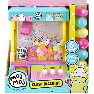 The Original Moj Moj Squishy Toys Claw Machine Playset: Toys & Games