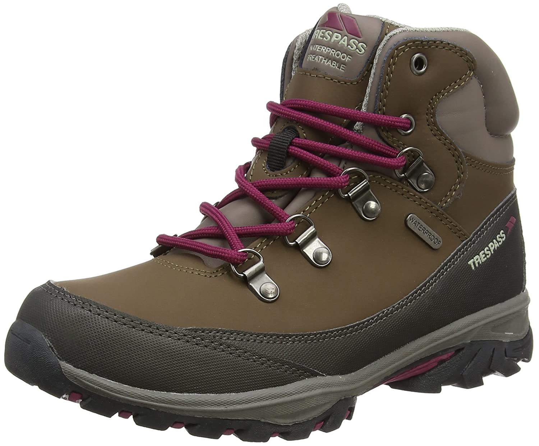 Trespass Unisex-Kinder Glebe Trekking-& Wanderhalbschuhe
