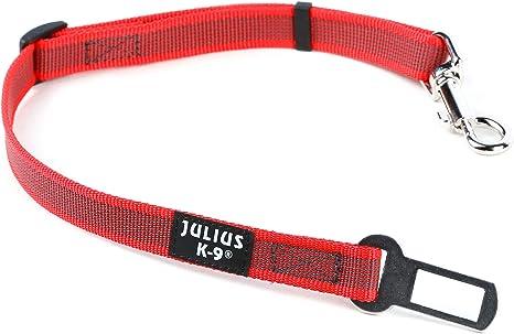 Gris//Rouge Julius-K9 Collier Pour Chien Taille L Pour Chien Taille L