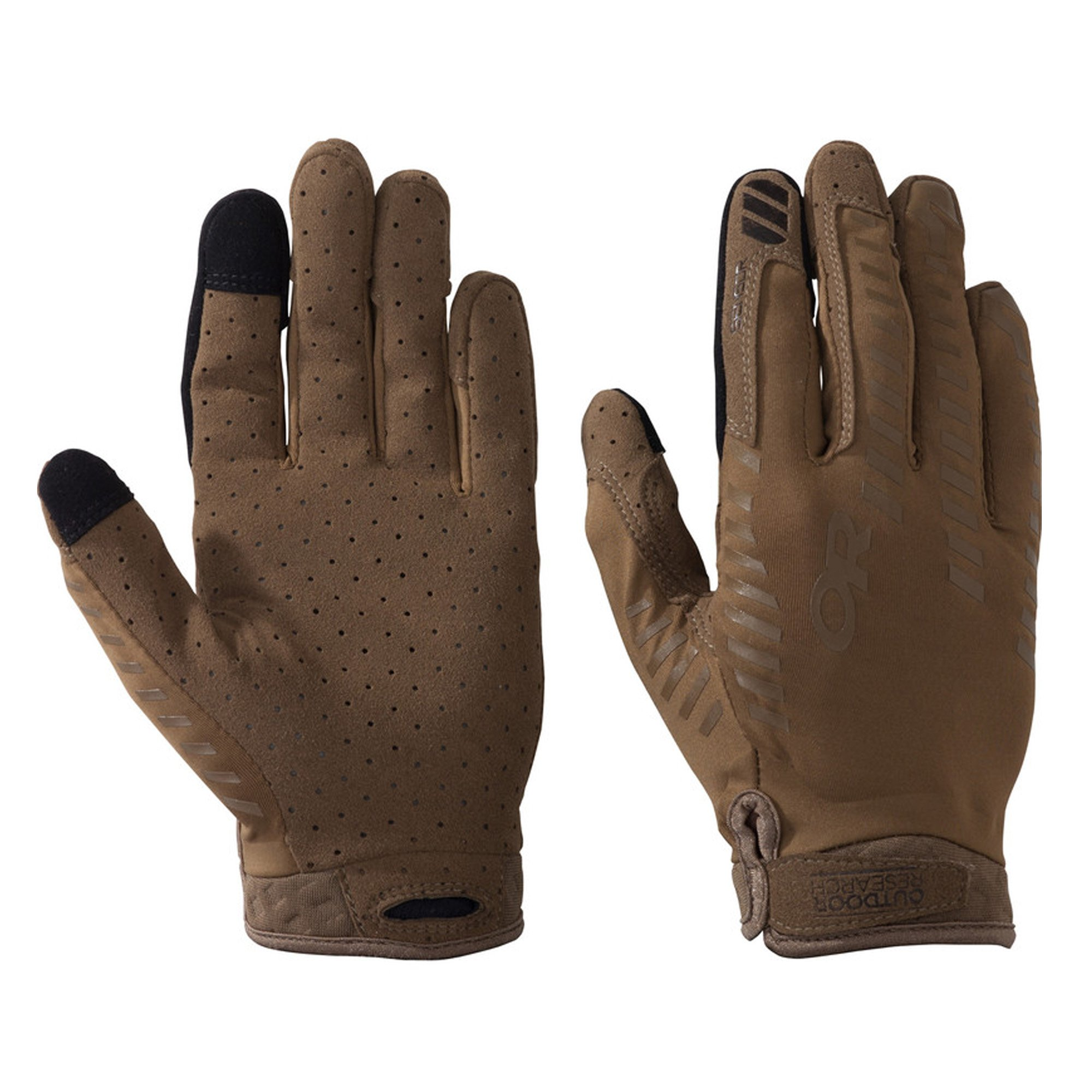 Outdoor Research Aerator Sensor Gloves, Coyote, X-Large