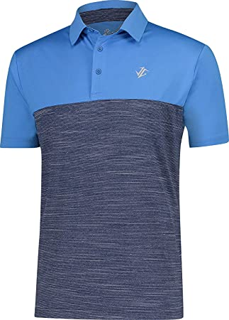 3de755c1 Jolt Gear Dri-Fit Golf Shirts for Men - Moisture Wicking Short-Sleeve Polo