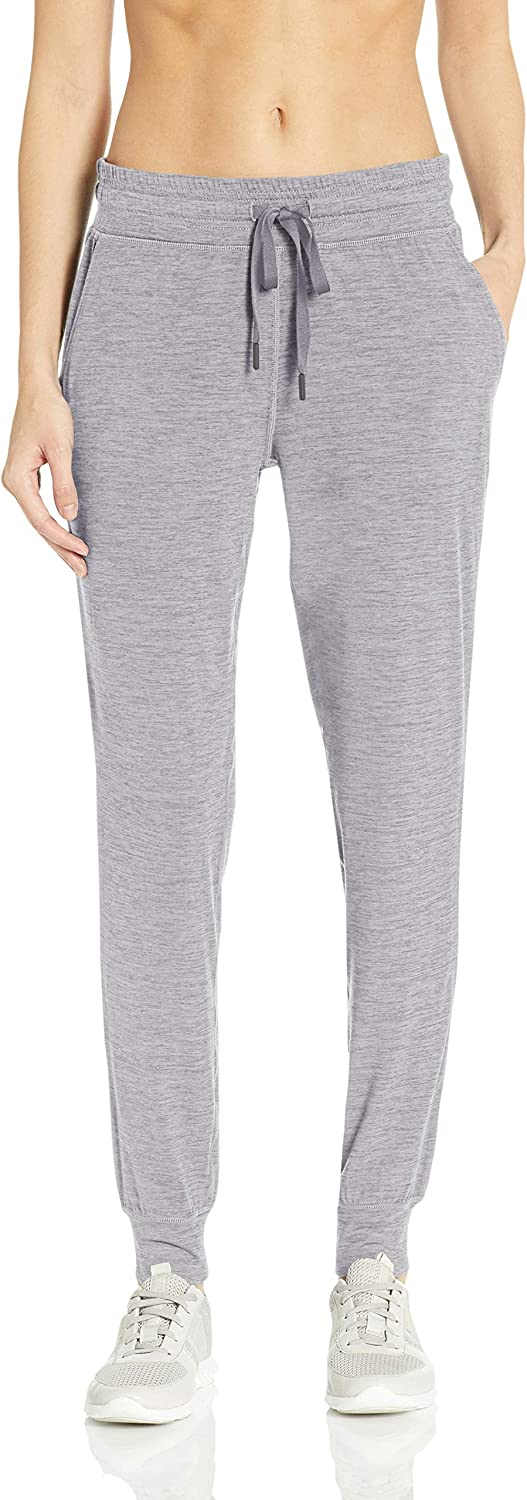 Essentials Women's Brushed Tech Stretch Jogger Pant: Clothing
