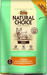 product image for Nutro Natural Choice Chicken Meal, Rice & Oatmeal Dry Dog Food